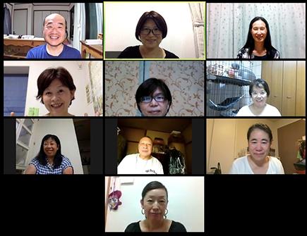 8月26日実施のオンライン会議の様子