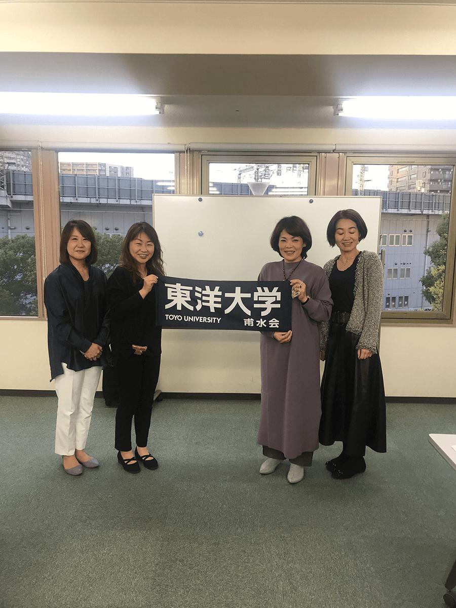 京都滋賀支部の地区別支部長懇談会集合写真